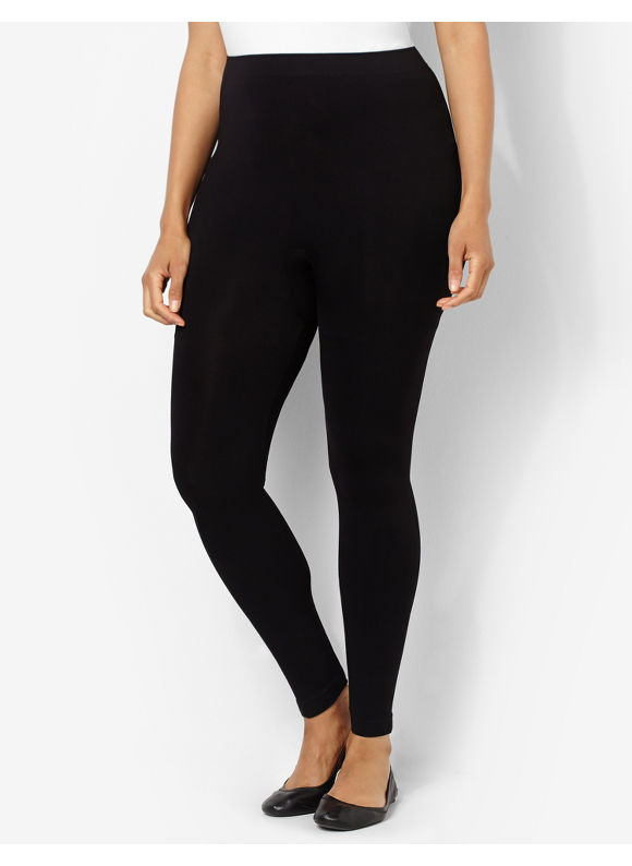 Catherines Plus Size Seamless Control Top Legging,  Women' Size: C-D,  Black plus size,  plus size fashion plus size appare