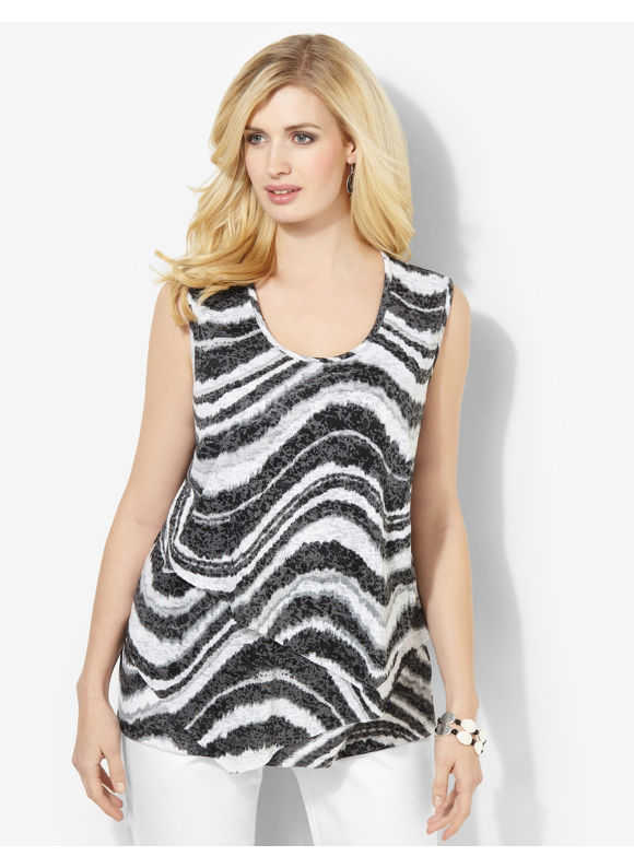 Catherines Plus Size Layering Tank - Dynamo