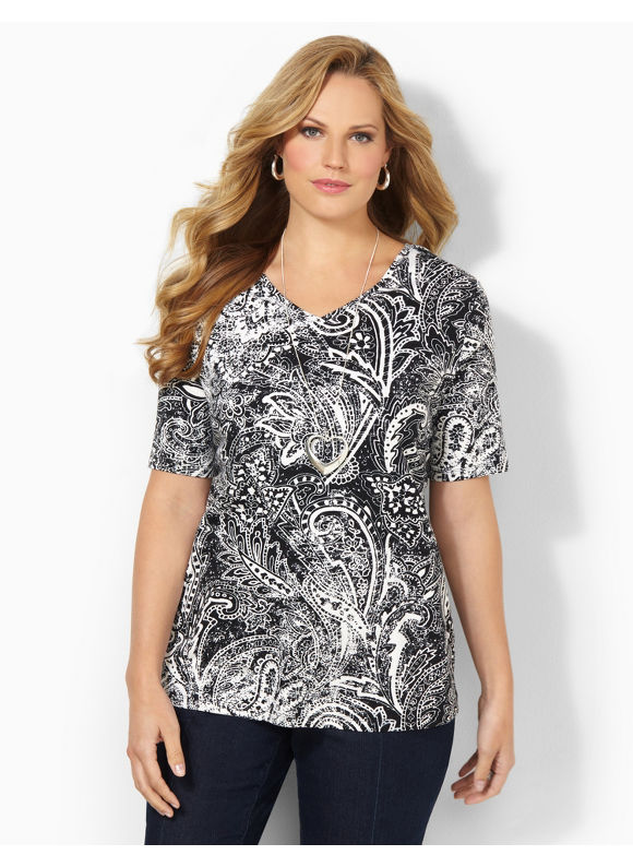 Image of Catherines Plus Size Ancient History Tee  Womens Size 0X Black