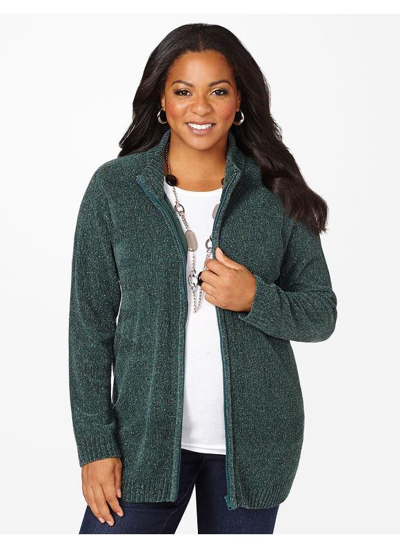 Catherines Plus Size Soft Colorwheel Sweater - Women's Size 1X, Ellington