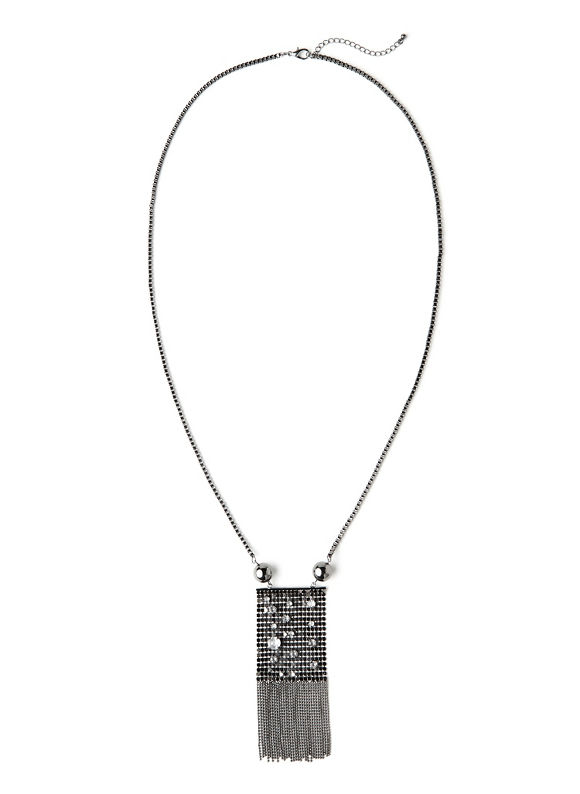 Catherines Women's Statement Armor Necklace