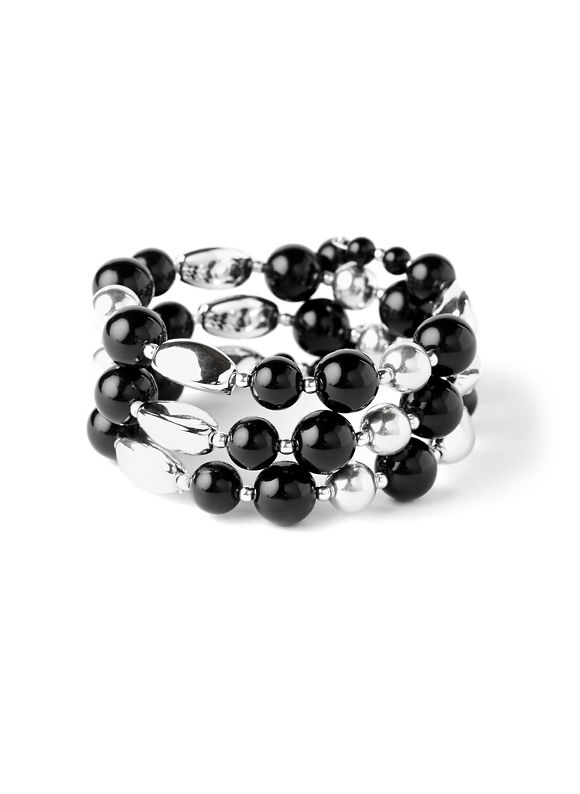 Catherines Women's Coil Bead Bracelet