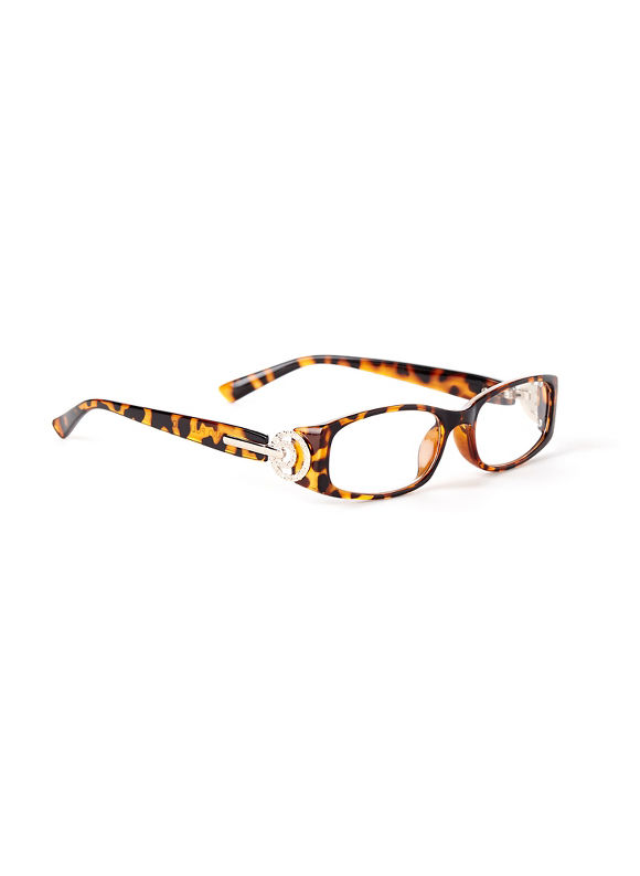 Catherines In The Loop Reading Glasses, Gold - Catherines ~ Classic Plus Size Clothes