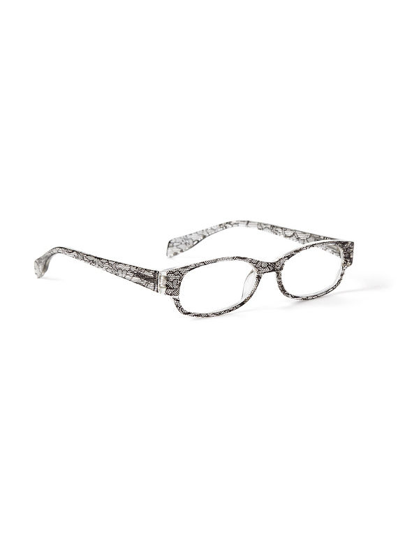 Catherines Clear Choice Reading Glasses, Black - Catherines ~ Classic Plus Size Clothes