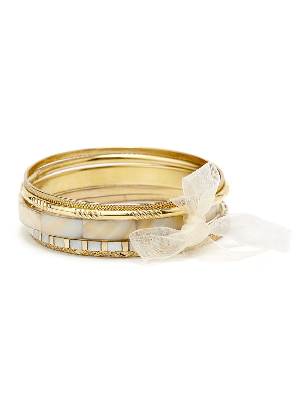 Catherines Springlight Bangles, Women's, Stone - Catherines ~ Classic Plus Size Clothes