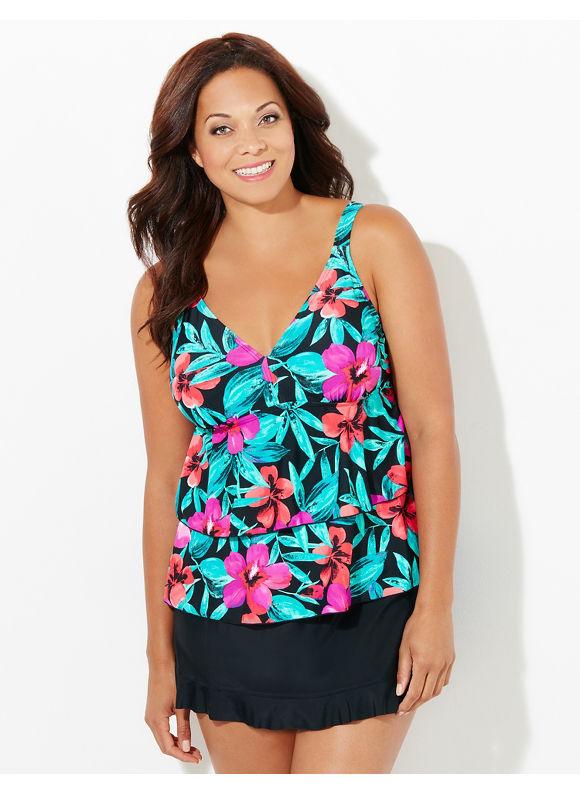 Hot New Trends in #PlusSize Swimwear