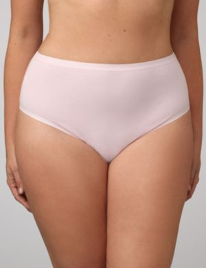 Cotton Hi-Cut Panties