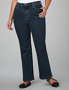 Secret Slimmer® 5-Pocket Bootcut Jeans by By Catherines®
