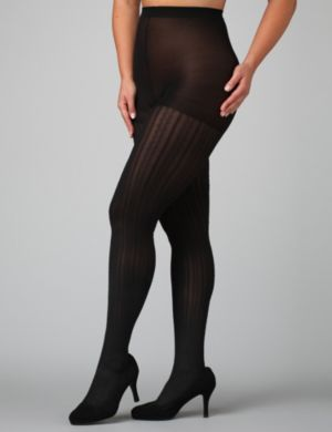 Cable Rib Control Top Tights