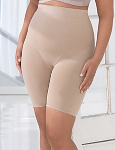 Seamless Hi-Waist Thigh Shaper