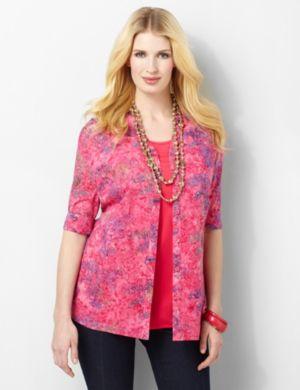 Floral Hues Shirt
