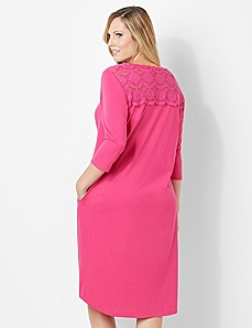 Soft Lace Sleep Gown by CATHERINES