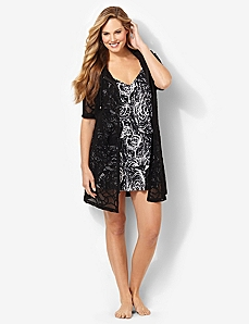Crochet Zip Cover-Up