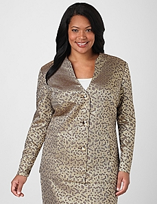 Infinity Metallic Jacket by Catherines