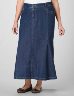 5-Pocket Denim Skirt