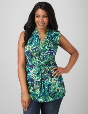 Caribbean Waves Knotted Tank
