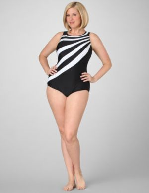 Eternity Striped Swimsuit