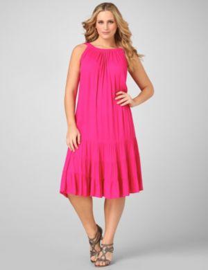 Essence Triple-Tier Dress