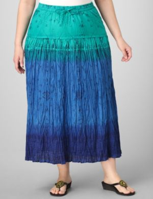 Tri-Tone Ombre Skirt