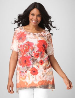 California Poppies Tunic