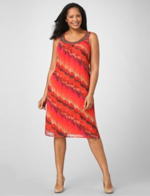 Sunset Splash Dress