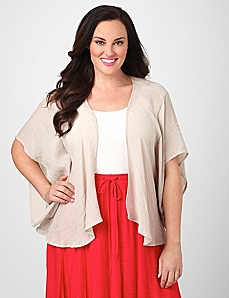 Airy Cascade Jacket by By Catherines®