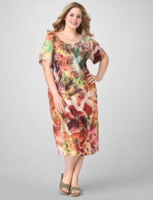 Floral Sublimation Dress