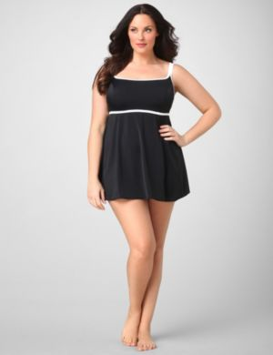Highlight Solid Swimdress
