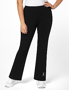 Comfort Fit Yoga Pants by A BIG ATTITUDE