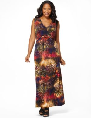 Amazon Twist Maxi Dress
