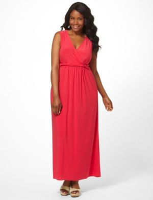 Twist Empire Dress