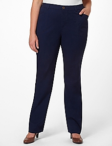 Stretch Twill Pant by CATHERINES
