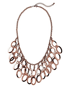 Oval Rings Necklace by Catherines