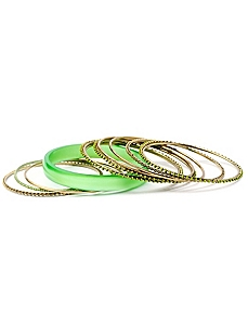 Illusion Bangle Set by Catherines