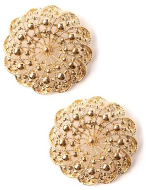 Filigree Flower Earrings