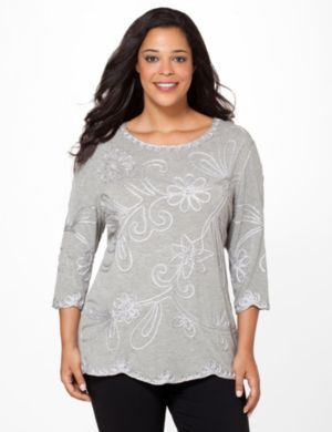 Soutache Bloom Top