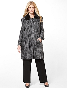 Park Avenue Coat by Catherines