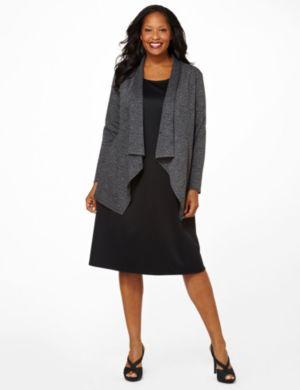 Soft Spot Jacket Dress