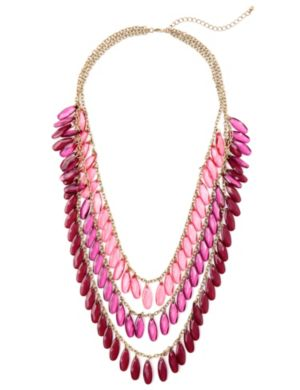 Blush Bead Necklace