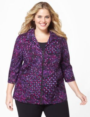 Paisley Houndstooth Jacket