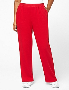 Ribbed Knit Pant by CATHERINES