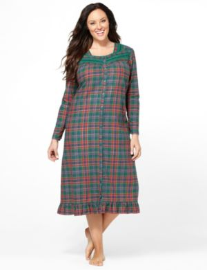 Festive Flannel Gown