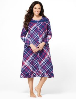 Bright Flannel Gown