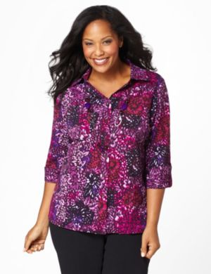 Petal Burst Blouse