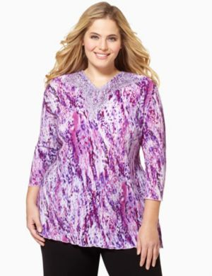 Splash Pleat Top
