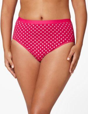 Serenada® Glitter Dot Hi-Cut Panty