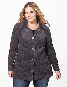 Cozy Corduroy Jacket by CATHERINES