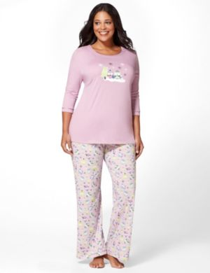 Cute Hoot Pajama Set