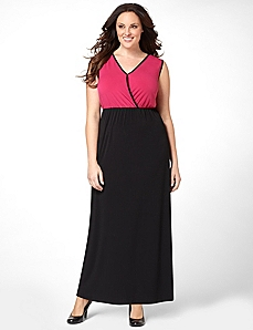 Colorblock Maxi by CATHERINES