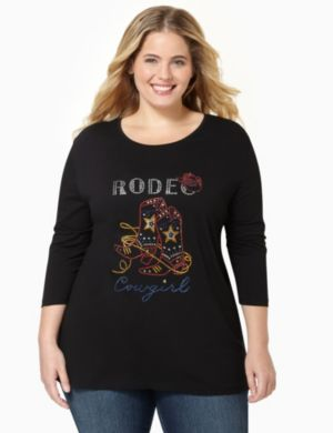 Rodeo Cowgirl Top